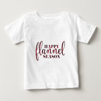 Happy Flannel Season Baby T-Shirt