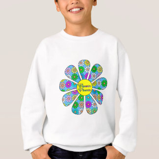 Happy Flower Power Sweatshirt