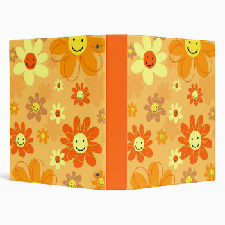 Happy Flowers Binder
