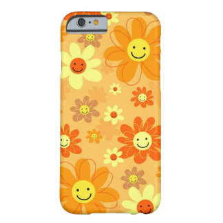 Happy Flowers Barely There iPhone 6 Case