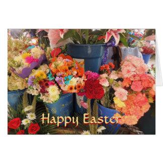 Happy Flowers from Ecuador Flower Plaza Card