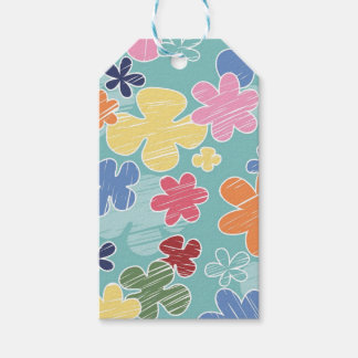 Happy Flowers Gift Tags
