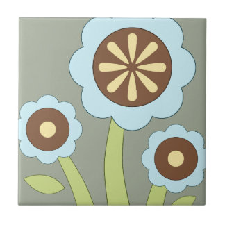 Happy Flowers Tiles