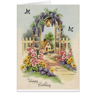 Happy Flowery Birthday! Card