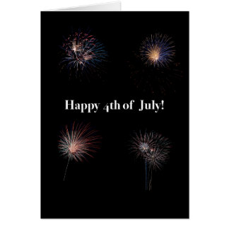 Happy Forth of July Card