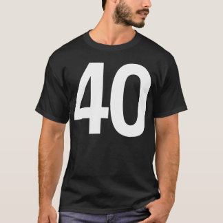 Happy Fortieth Birthday T-Shirt