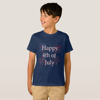 Happy Fourth Kids Shirt