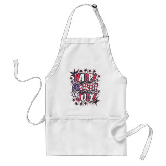 Happy Fourth of July BBQ Apron