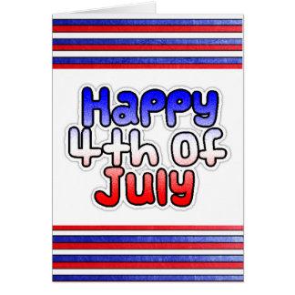 Happy Fourth of July Card