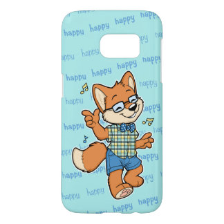 Happy Fox Samsung Galaxy S7 phone case