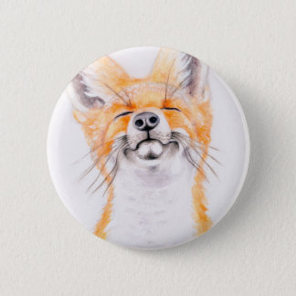 Happy Foxy 2 Inch Round Button