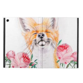 Happy Foxy And Roses Case For iPad Air