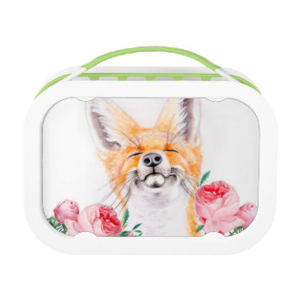 Happy Foxy And Roses Lunch Box