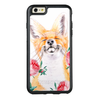 Happy Foxy And Roses OtterBox iPhone 6/6s Plus Case