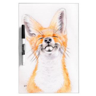 Happy Foxy Dry Erase Board