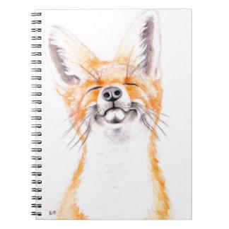 Happy Foxy Notebook