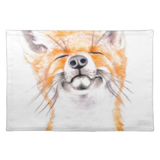 Happy Foxy Placemat
