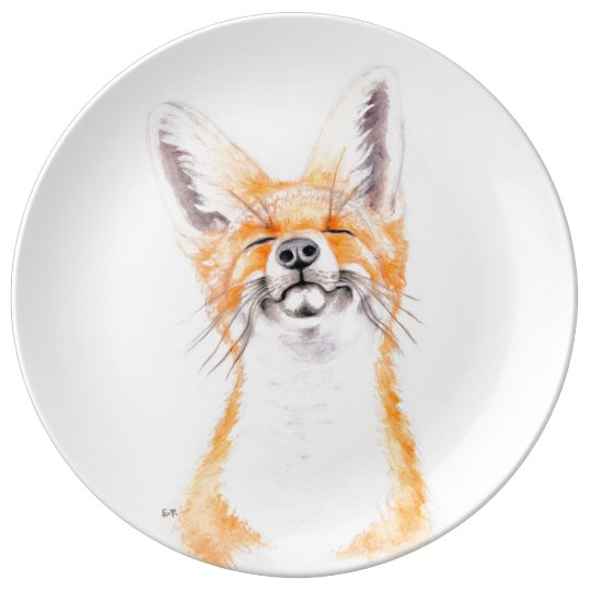 Happy Foxy Plate