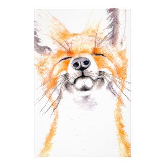 Happy Foxy Stationery Design