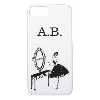Happy Friday Fashion Illustraton Case-Mate iPhone Case