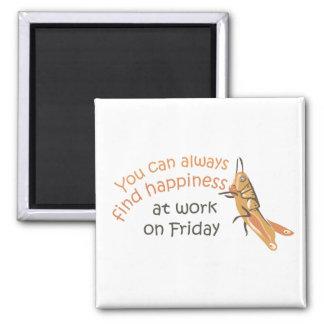 Happy Friday Magnet
