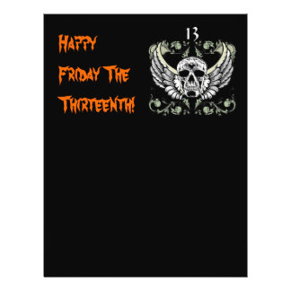 Happy Friday The Thirteenth! Personalized Flyer