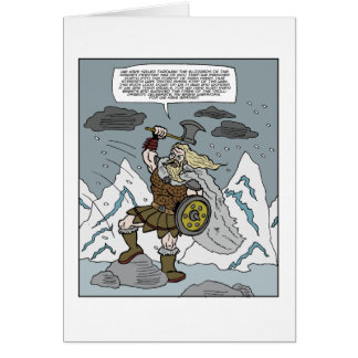 Happy Friday Viking Greeting Card