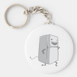 Happy Fridge Basic Round Button Keychain