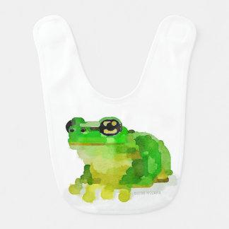 Happy Frog Baby Bib