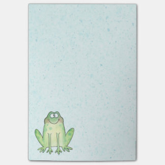 Happy Frog Post-it Notes
