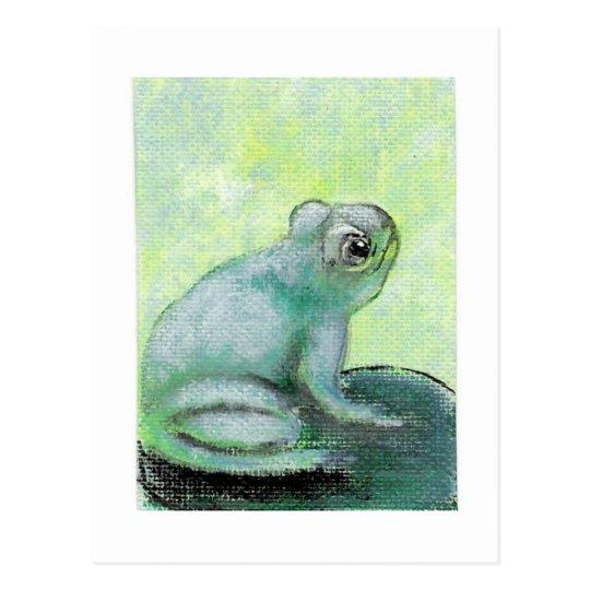 Happy Frog Postcard