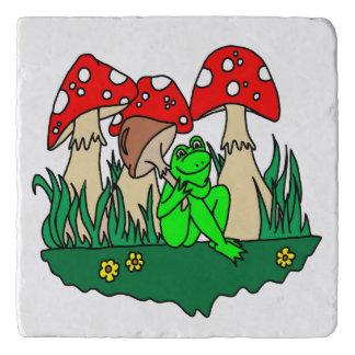 Happy Frog Trivet