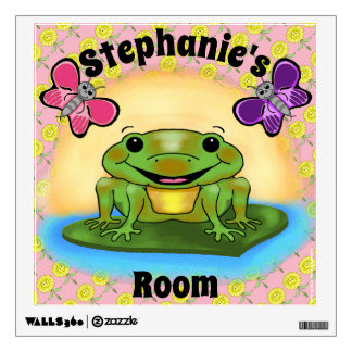 Happy Frog Wall Decal