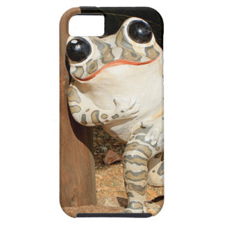 Happy frog with big eyes case for the iPhone 5