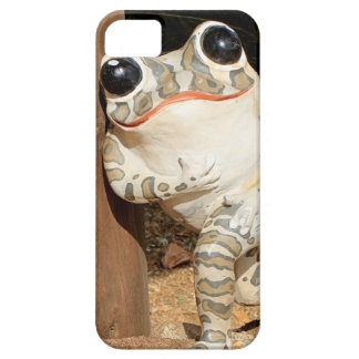 Happy frog with big eyes iPhone 5 covers