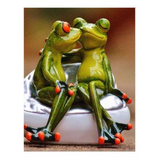 Happy Frogs Letterhead