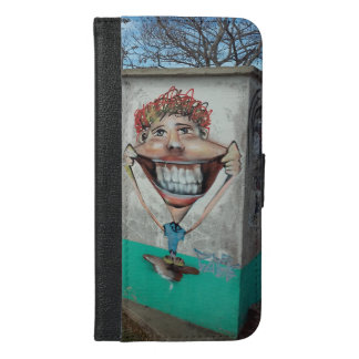 Happy Funny Face  Iphone Case and Wallet