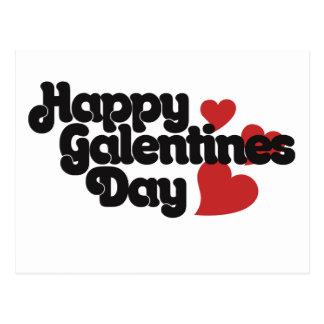 Happy Galentines Day Postcard