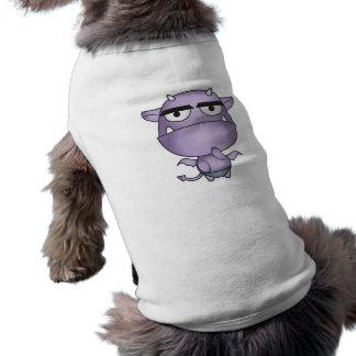 Happy Gargoyle Cartoon - Fantasy Pet Tee Shirt