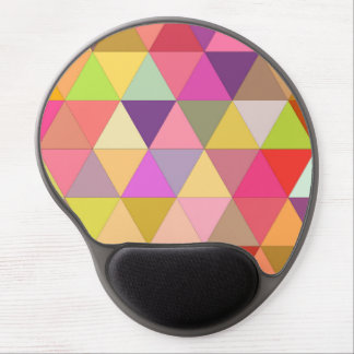 Happy geometry gel mouse pad