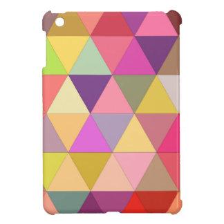 Happy geometry iPad mini cover