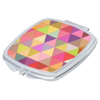 Happy geometry makeup mirrors