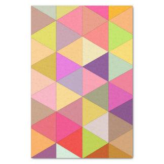Happy geometry tissue paper