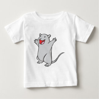 Happy Gerbil Cartoon Baby T-Shirt