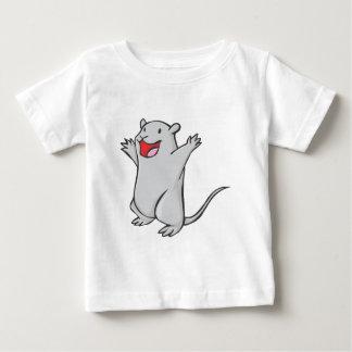 Happy Gerbil Cartoon T Shirt