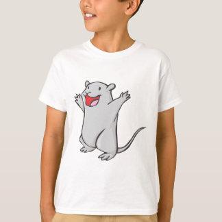 Happy Gerbil Cartoon Tshirt