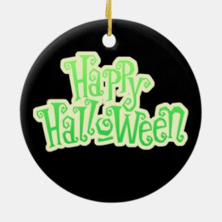 Happy Ghost Halloween Ornament