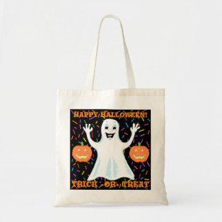 Happy Ghost Halloween Tote Bag