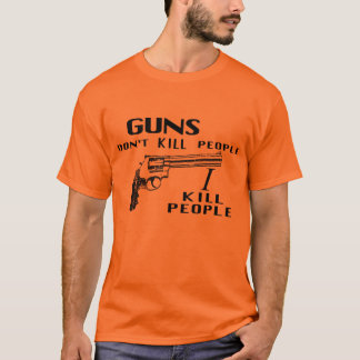 Happy Gilmore - Guns Don't Kill T-Shirt
