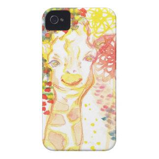 happy giraffe iPhone 4 covers